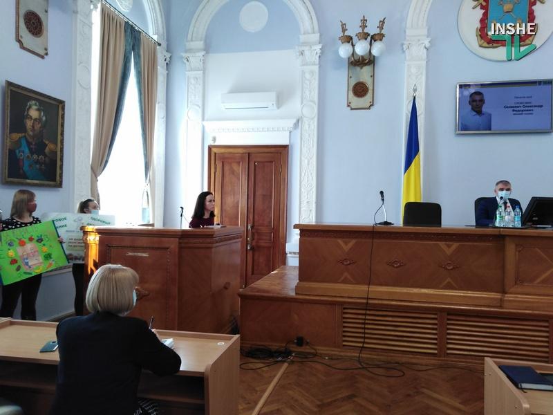 Жаркий вопрос по детскому питанию: мэр Николаева не дал слова депутату Чайке и объявил перерыв в сессии (ВИДЕО)