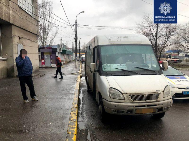 В Николаеве за сутки патрульные выявили трех пьяных водителей, один из них был маршрутчиком (ФОТО)