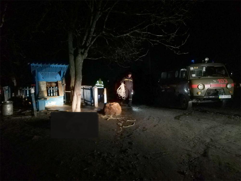 На Николаевщине из колодца достали тело 19-летнего парня (ФОТО) 3