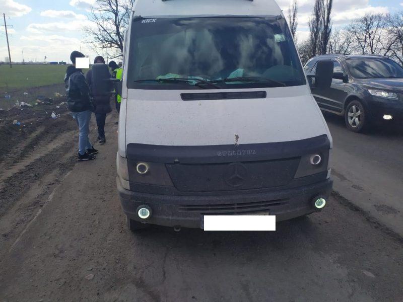 Налоговая милиция Николаевщины выявила передвижную мини-АЗС. Незаконную (ФОТО)