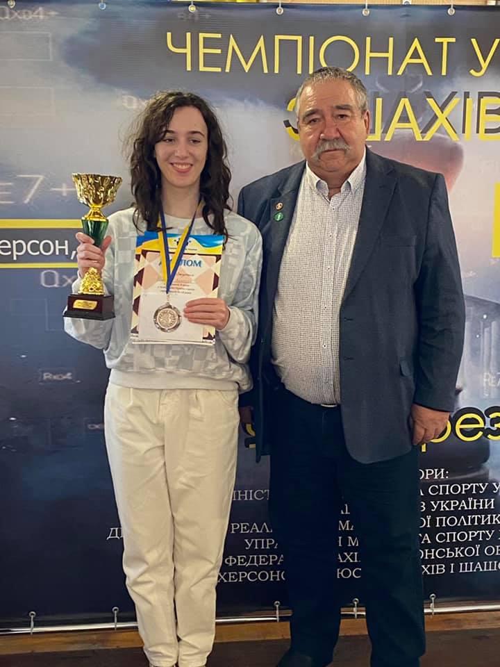 Анжелика Ломакина из Николаева стала бронзовым призером чемпионата Украины по шахматам (ФОТО) 2