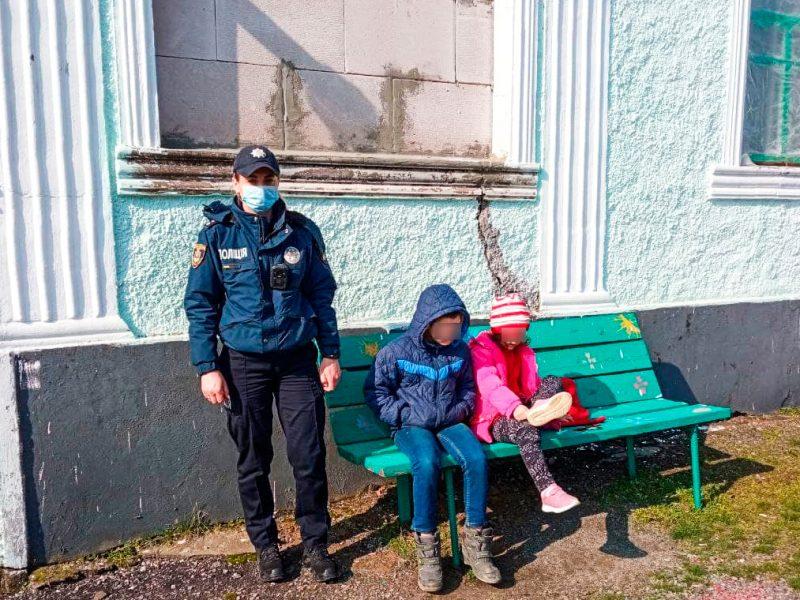 На Николаевщине полицейский офицер громады спасла детей на пожаре (ФОТО)