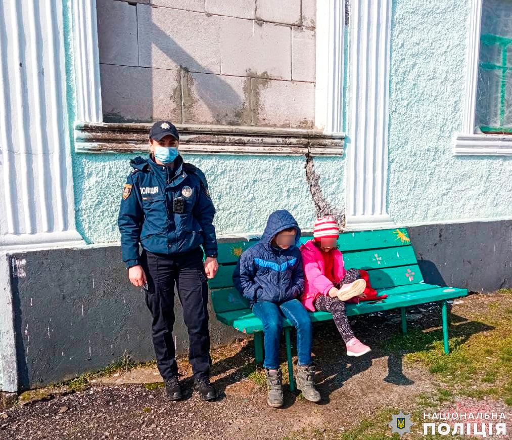 На Николаевщине полицейский офицер громады спасла детей на пожаре (ФОТО) 1