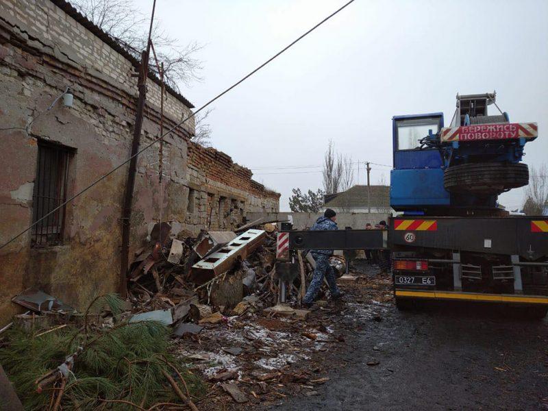 В Николаевской области на территории школы взорвался котел – под завалами оказался один человек (ФОТО)