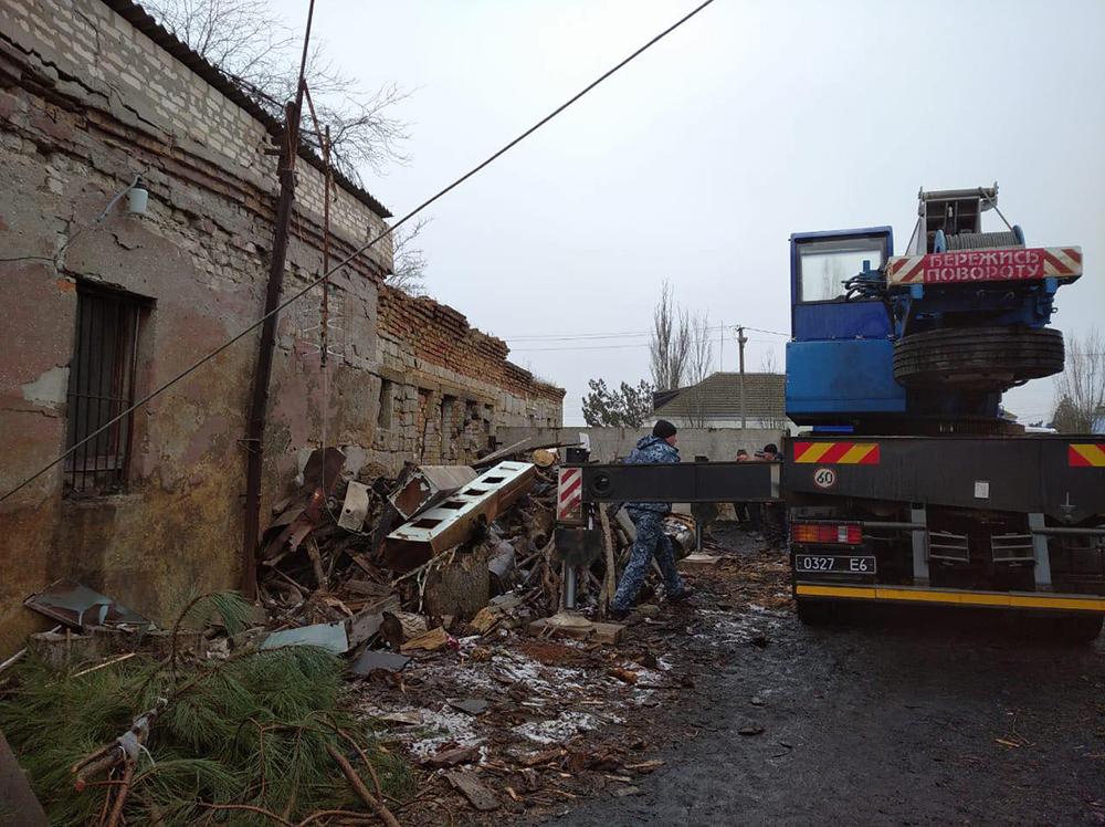 В Николаевской области на территории школы взорвался котел – под завалами оказался один человек (ФОТО) 3