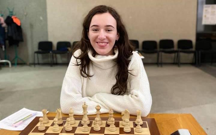 Юная шахматистка из Николаева стала чемпионкой Украины