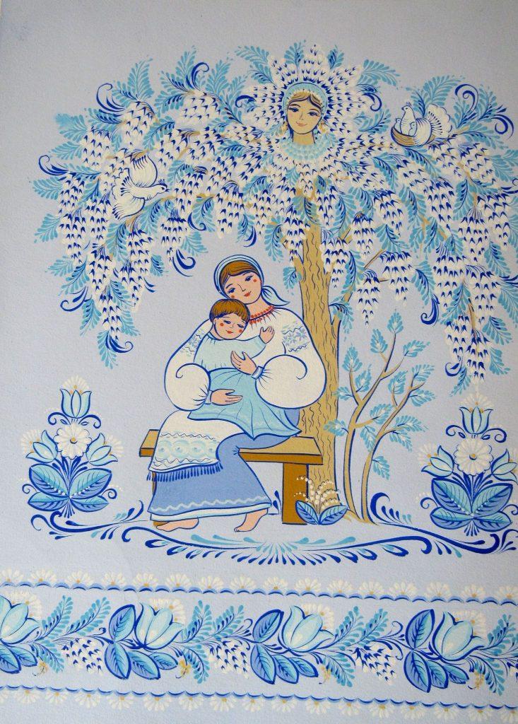 В Николаеве открылась выставка уникальной таврийской росписи Любови Паранюк (ФОТО) 27