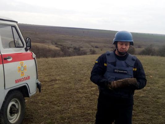 В Варваровке нашли 8 снарядов – вызвали спасателей (ФОТО)