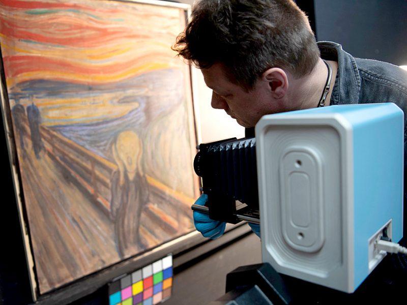 «Такое мог нарисовать только сумасшедший»: исследователи нашли на картине Мунка интересную надпись и считают, что ее сделал сам художник (ФОТО)