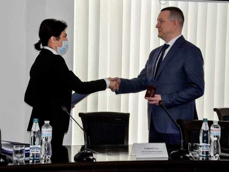 Венедиктова представила в Николаеве нового прокурора области (ФОТО)