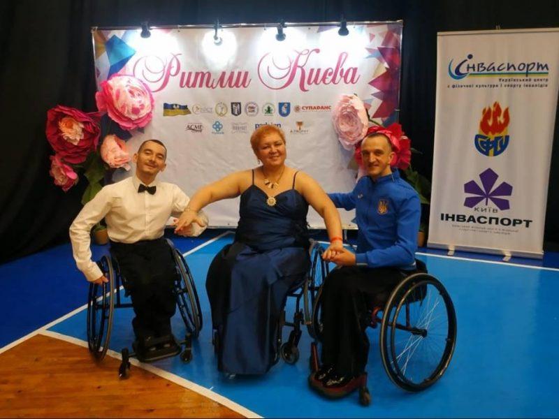Николаевские танцоры на колясках заняли призовые места на чемпионате Украины (ФОТО, ВИДЕО)