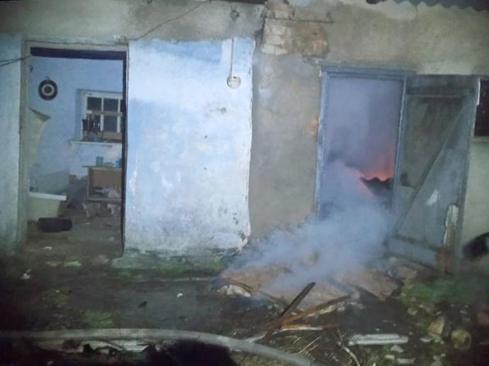 На Николаевщине за сутки горело две хозпостройки (ФОТО) 3