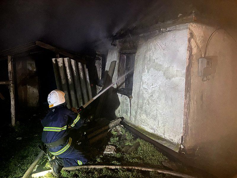 За вечер и ночь на Николаевщине на пожарах погибли два человека, еще один получил серьезные ожоги (ФОТО)