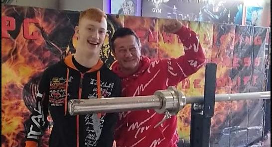 Николаевец с ДЦП выиграл соревнования по пауэлифтингу