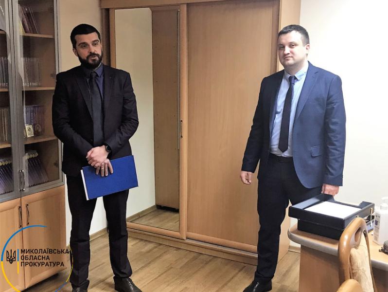 Первомайскую окружную прокуратуру возглавил Константин Щербак (ФОТО)