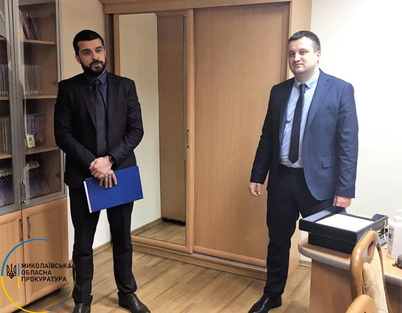 Первомайскую окружную прокуратуру возглавил Константин Щербак (ФОТО) 3
