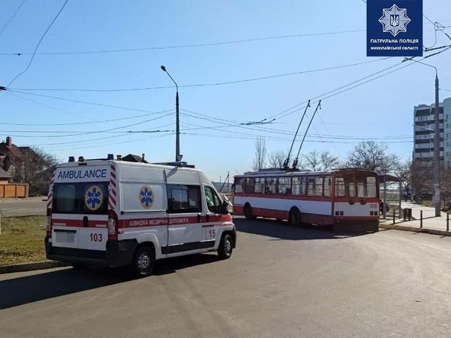 Говорит, никого не бил: в Николаеве разыскали и задержали мужчину, напавшего на женщину-водителя троллейбуса (ФОТО) 5