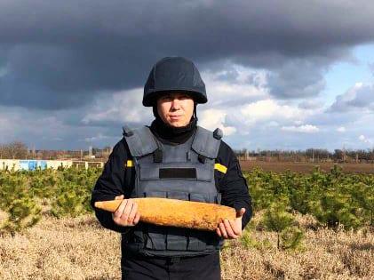 За Галициново нашли старый артснаряд. И обезвредили (ФОТО) 1