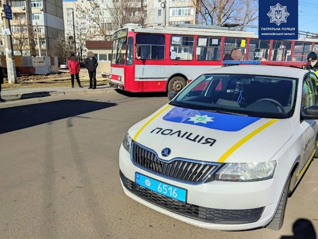 Говорит, никого не бил: в Николаеве разыскали и задержали мужчину, напавшего на женщину-водителя троллейбуса (ФОТО) 7