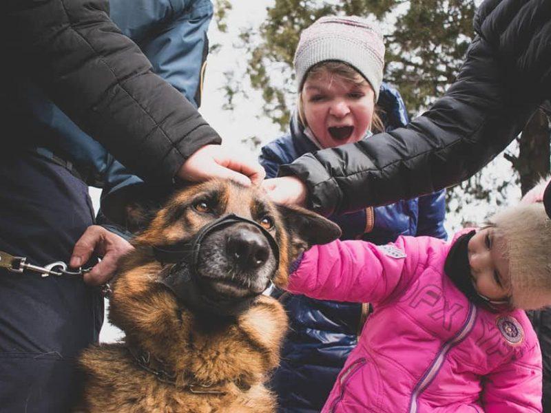 В Николаевском полку Нацгвардии для детей с особыми потребностями прошел День открытых дверей (ФОТО)