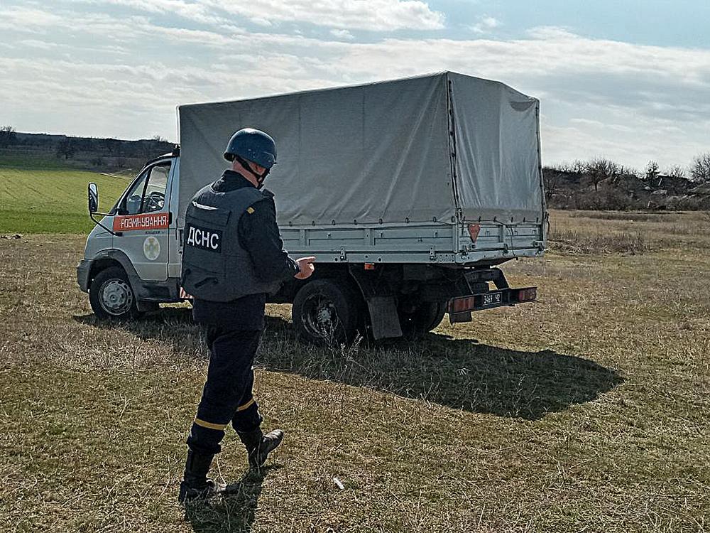 На Николаевщине пастух нашел минометную мину (ФОТО) 1