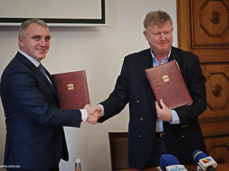 Николаев получит 80 млн грн на развитие инфраструктуры: подписан меморандум с QTerminals Olvia (ФОТО)