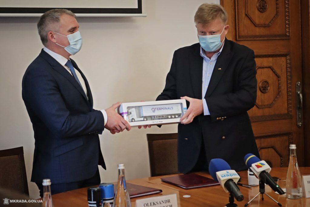Николаев получит 80 млн грн на развитие инфраструктуры: подписан меморандум с QTerminals Olvia (ФОТО) 9