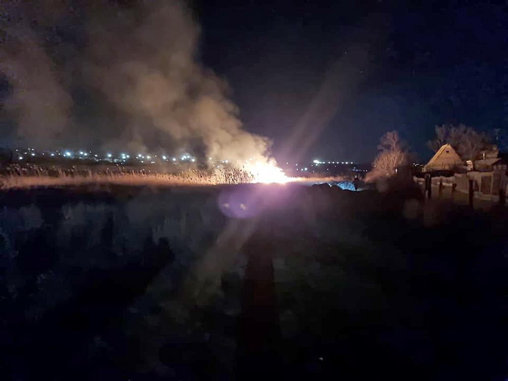 Опять поджоги: за сутки в Николаевской области выгорело 1,87 га открытых территорий (ФОТО) 1