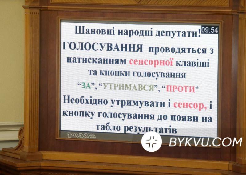 """Сенсорная кнопка от """"кнопкодавства"""" не спасет: в Раде оценили новую систему голосования"""
