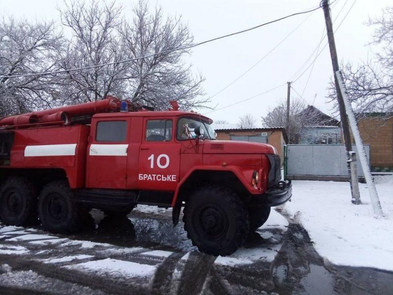 На Николаевщине за сутки потушили два пожара в жилье, есть погибший (ФОТО)