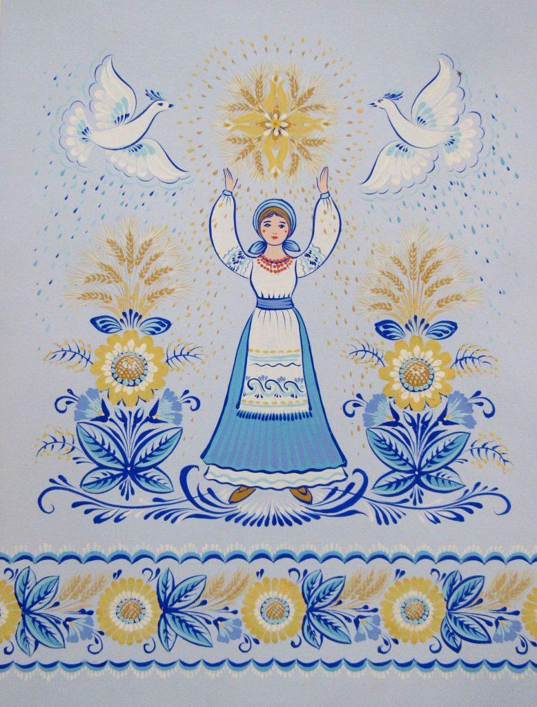 В Николаеве открылась выставка уникальной таврийской росписи Любови Паранюк (ФОТО) 19