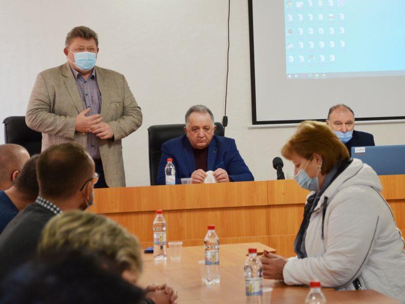 НГЗ переведут на технологию сухого складирования шлама — об этом руководство завода рассказало жителям Галицыново (ФОТО)