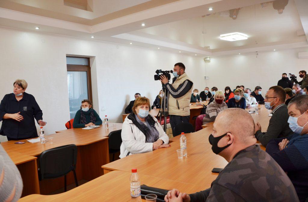 НГЗ переведут на технологию сухого складирования шлама - об этом руководство завода рассказало жителям Галицыново (ФОТО) 5