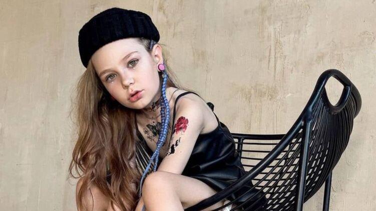 Роман 8-летней модели-киевлянки в Instagram вызвал скандал: где граница пропаганды педофилии? (ФОТО)