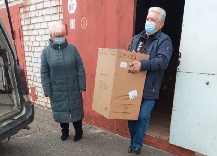 Облгосадминистрация передала 10 кислородных концентраторов в больницу №5 Николаева