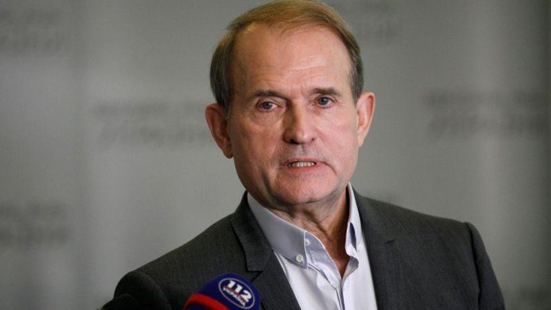 СБУ допросила Медведчука по делу о госизмене