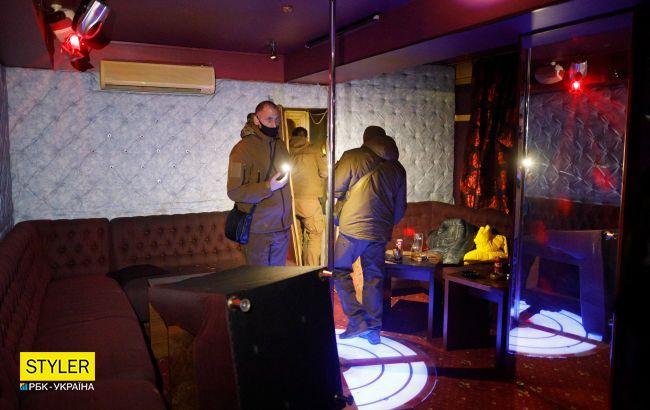 В Одессе полиция и спасатели взламывали ночной клуб, устроивший закрытую вечеринку в карантин
