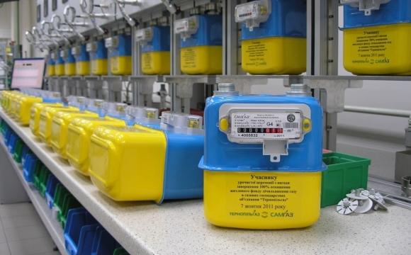 Рада продлила срок установки счетчиков газа бытовым потребителям до 1 января 2023