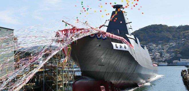 Япония спустила на воду уникальный стелс-фрегат (ВИДЕО)