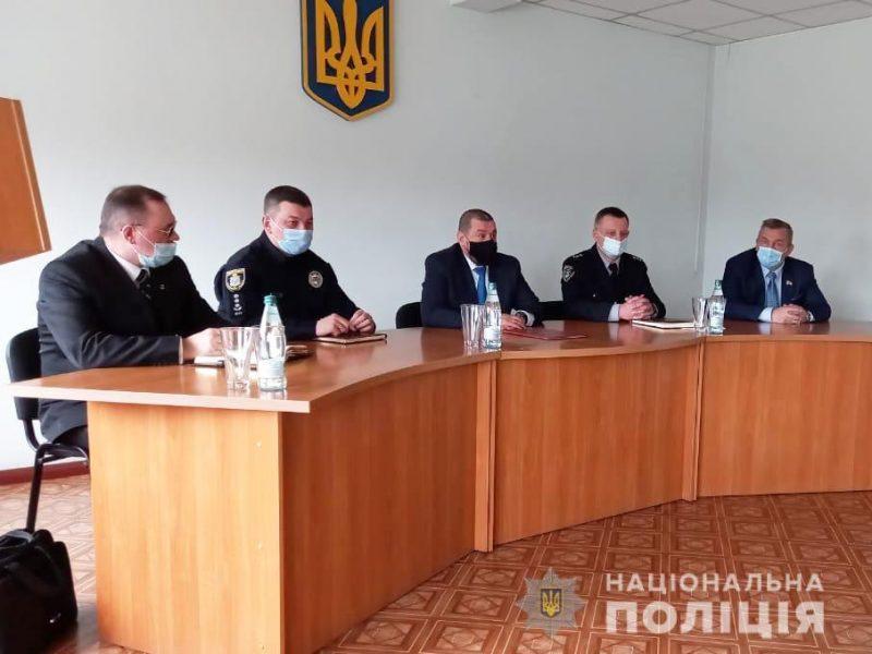 В Южноукраинске новый начальник полиции (ФОТО)