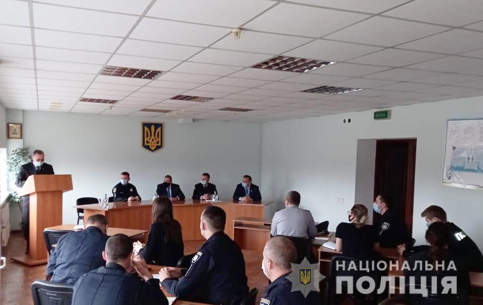 В Южноукраинске новый начальник полиции (ФОТО) 3