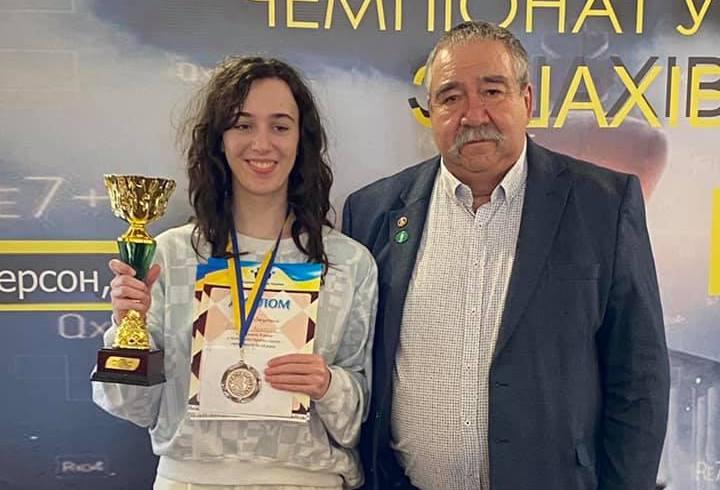 Анжелика Ломакина из Николаева стала бронзовым призером чемпионата Украины по шахматам (ФОТО)