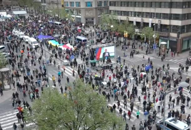 В Чехии протестовали против президента – «Земан предатель», защищает РФ