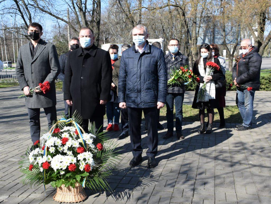 В Николаеве у «Шталаг-364» почтили память узников фашистских концлагерей (ФОТО) 1