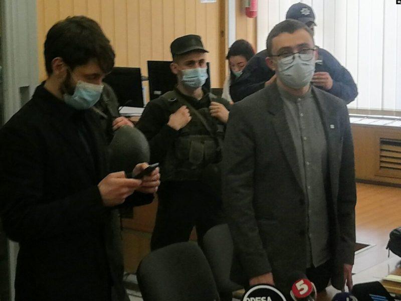 Стерненко и Демчука отпустили под домашний арест