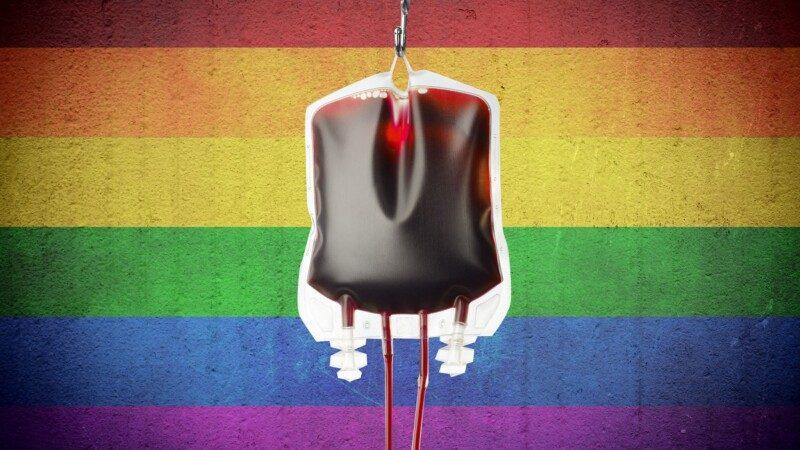 В Украине отменили запрет для гомосексуальных людей на донорство крови