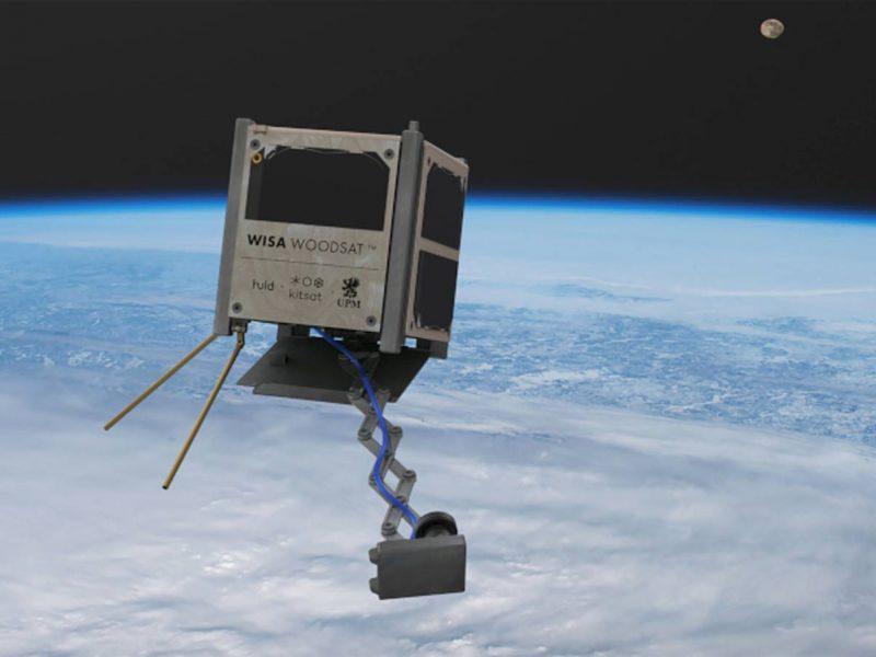 Финляндия собирается запустить в космос деревянный спутник