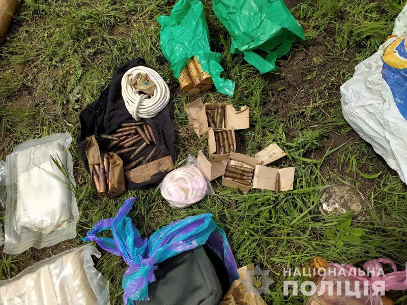 На Николаевщине обнаружили схрон с боеприпасами (ФОТО)