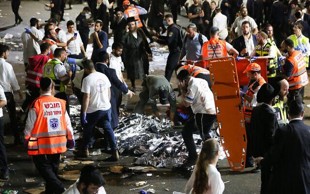 Из-за обрушения трибун на религиозном празднике в Израиле погибло более 40 человек (ФОТО, ВИДЕО)