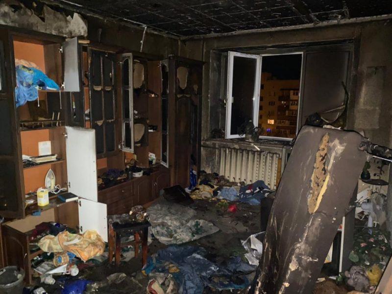 Ночью в Николаеве на пожаре погибла женщина (ФОТО)